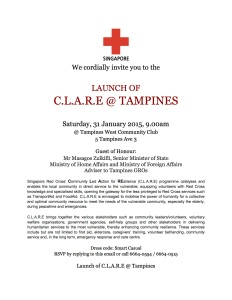 EDM - Launch of CLARE